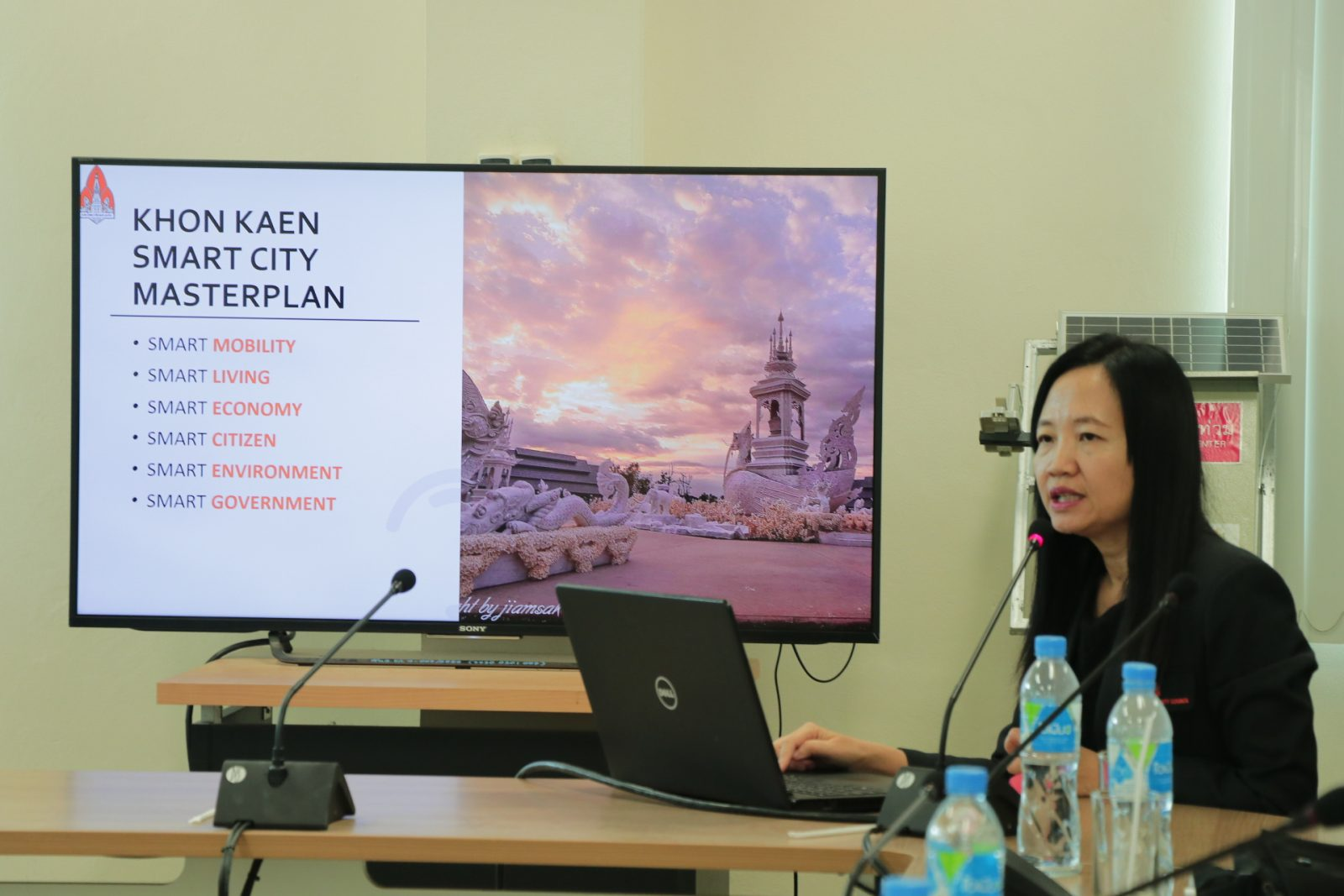 KKU Library fuels research on Smart City development for keys offices in Khon Kaen