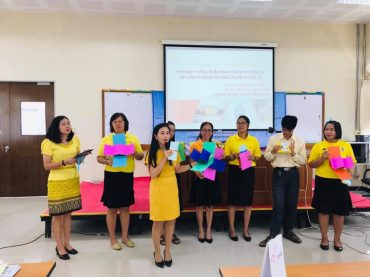 Faculty of Education trains Srisaket teachers on instructional methods