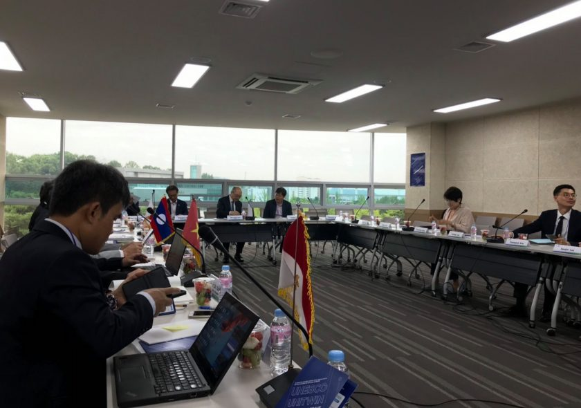 KKU attends UNESCO's conference to show Thai educational innovation