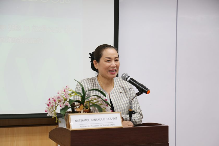 Mrs.Natsamol Tanakulrungsarit Acting Assistant to President for Special Affairs