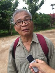 Dr. Sunet Pothisan, a scholar from Lao PDR and former director of National Lao Museum